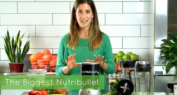 On the Hunt for the Biggest Nutribullet?