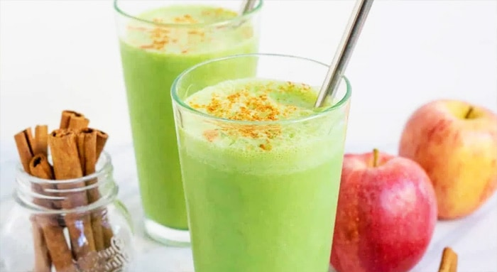 Apple-Cinnamon Green Smoothie