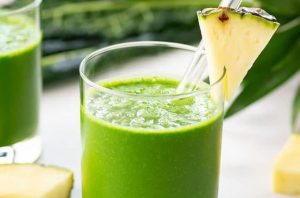 Pineapple Chlorella Smoothie